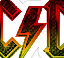 rock band style music Sticker