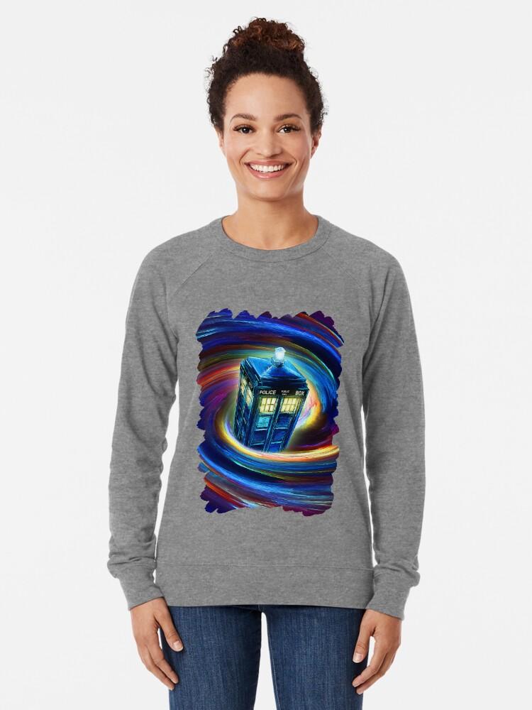 Alternative Ansicht von Zeit Vortex Leichter Pullover