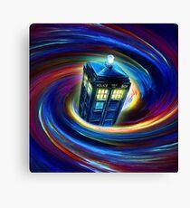 Time Vortex Canvas Print