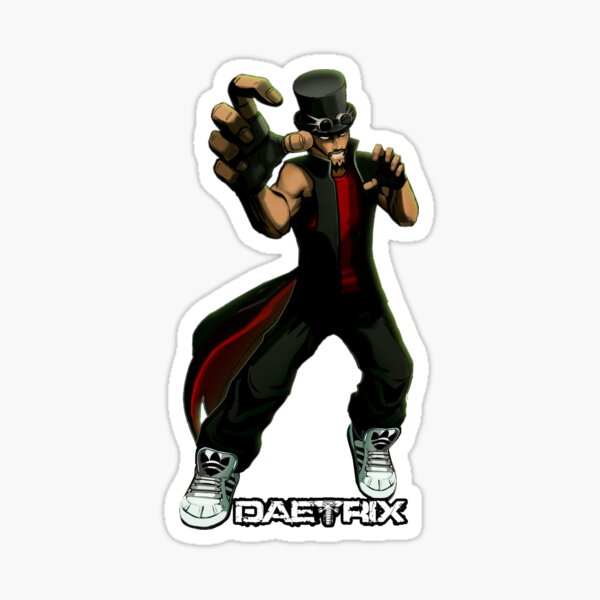 DAETRIX - WITHIN THE GRASP Sticker