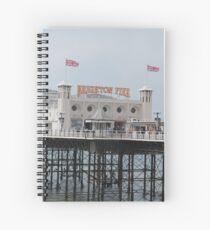 Brighton. Spiral Notebook