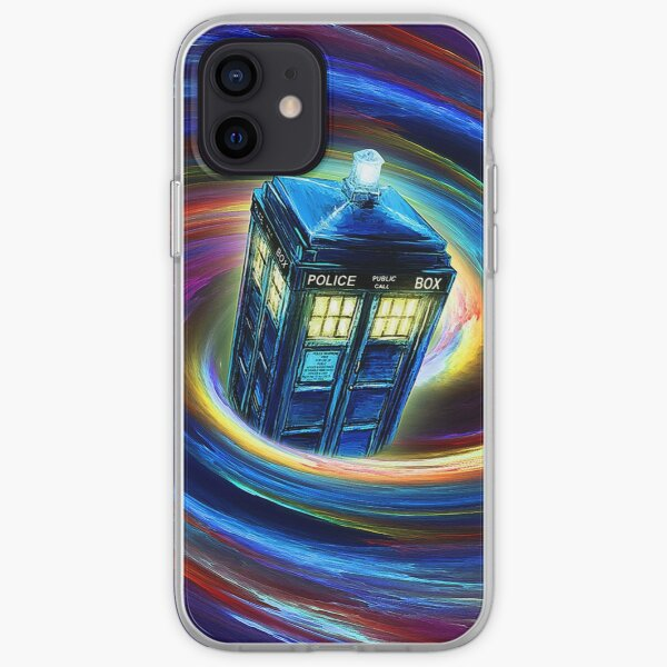 Time Vortex iPhone Soft Case