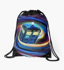 Time Vortex Drawstring Bag