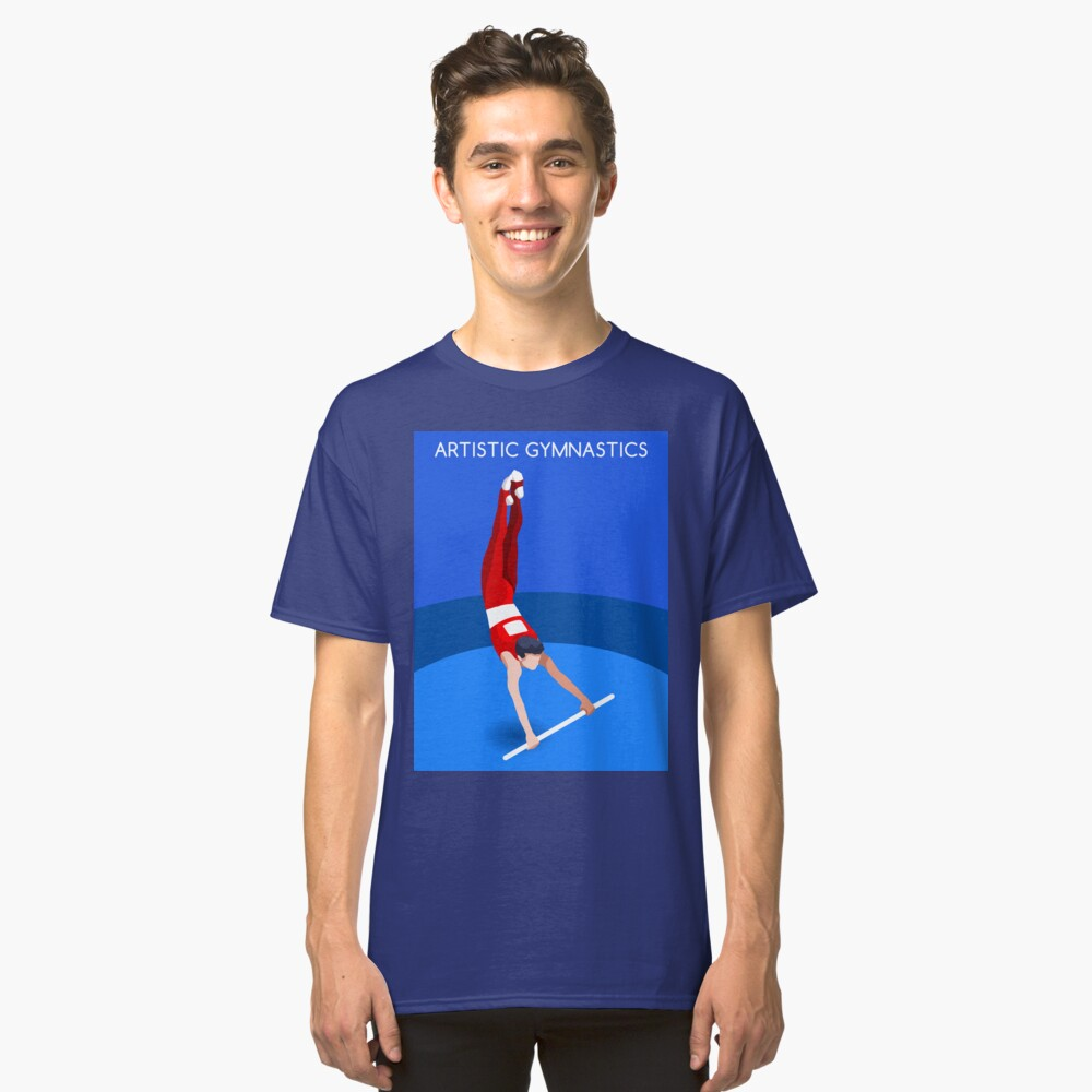 Gymnastics High Bar 2016 Summer Games  Classic T-Shirt