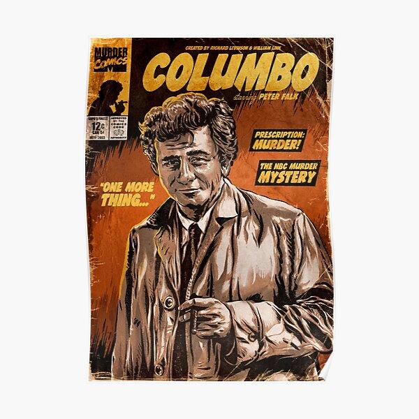 Columbo TV Show Comic Poster