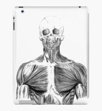 human body anatomy iPad Case/Skin