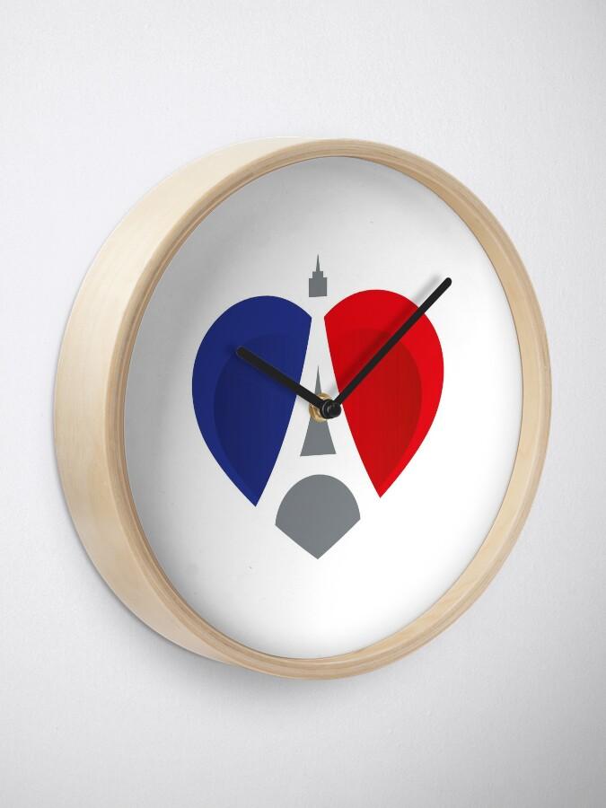 Alternative Ansicht von French Heart Uhr