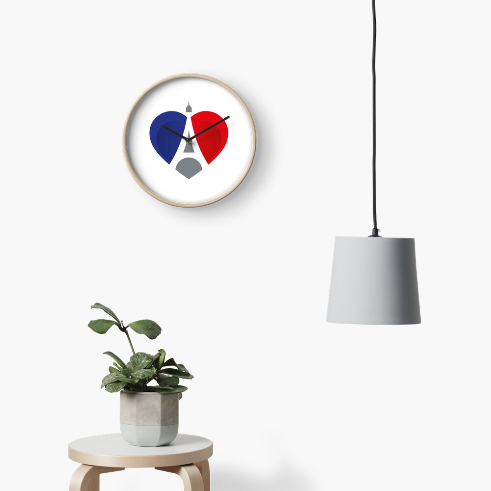 French Heart Uhr