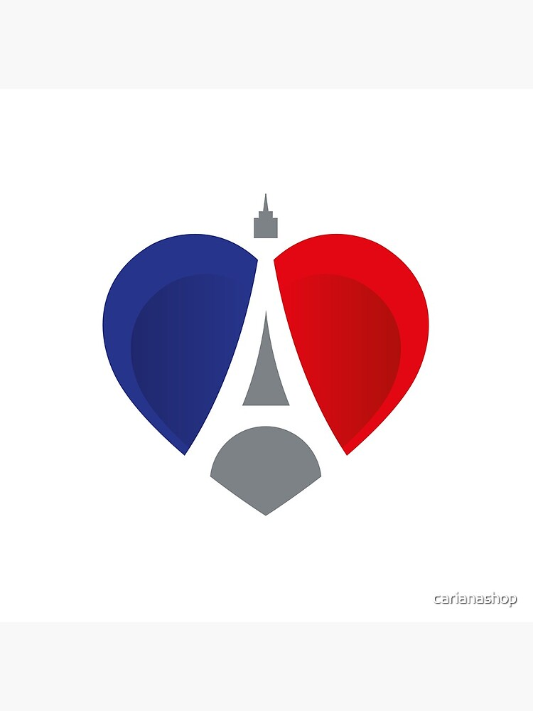 French Heart von carianashop