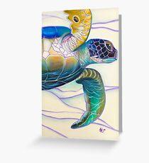 Honu 'O Ke Kai - greeting card Greeting Card