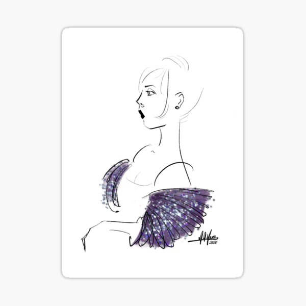 Couture Lines Sticker