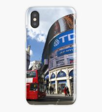 Piccadilly Circus in London iPhone Case/Skin