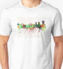 Zurich skyline in watercolor background Unisex T-Shirt