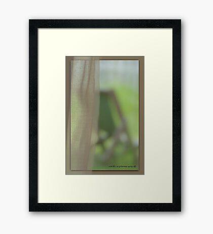 The View From Inside © Vicki Ferrari Framed Print