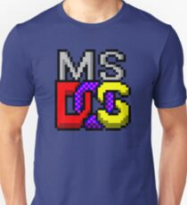 MS-DOS WINDOWS95 ICON T-Shirt