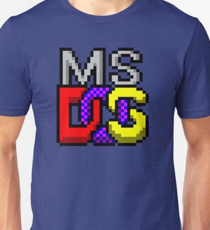 MS-DOS WINDOWS95 ICON Unisex T-Shirt