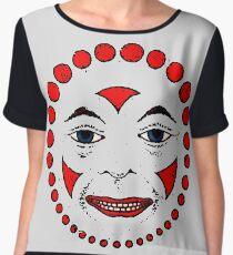 Clownface Chiffon Top