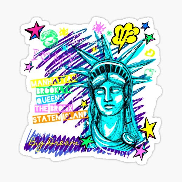 Liberty New York Sticker