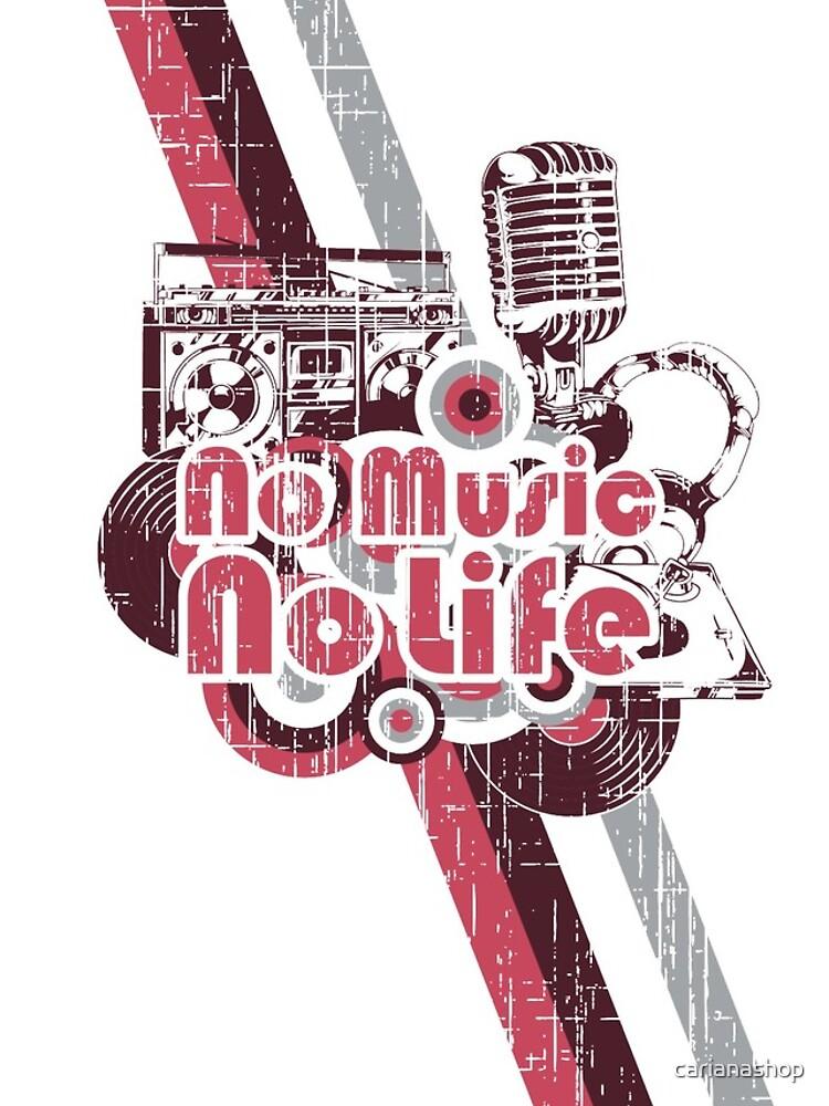 No Music no Life von carianashop