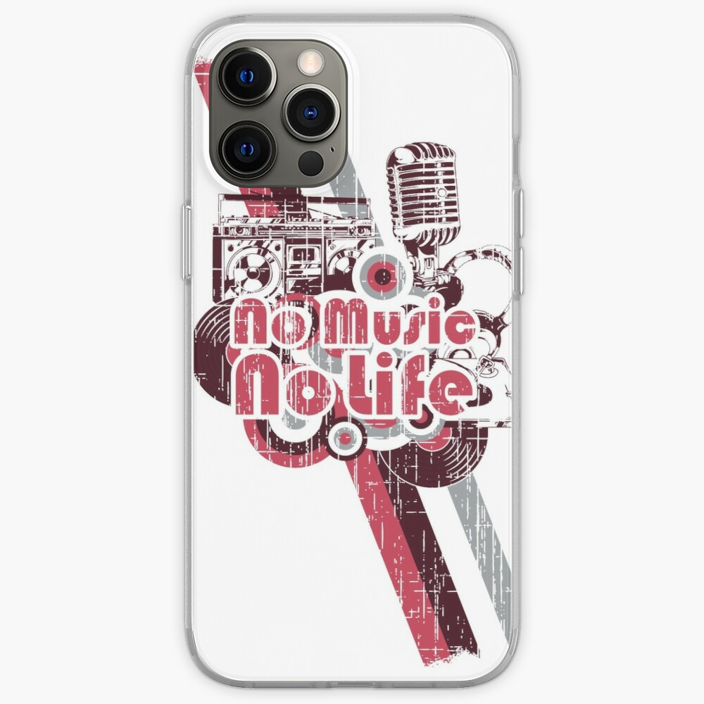 No Music no Life iPhone-Hülle & Cover