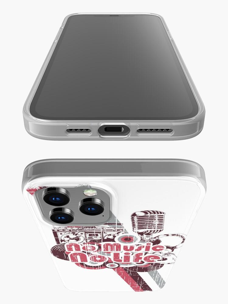 Alternative Ansicht von No Music no Life iPhone-Hülle & Cover