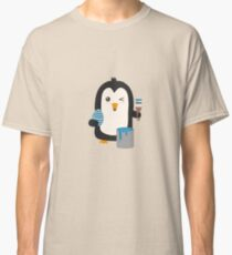 Easter penguin gifts merchandise redbubble penguin with egg classic t shirt negle Images