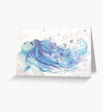 Wind Chill Greeting Card