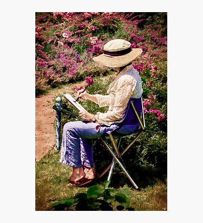 La Peintre Photographic Print
