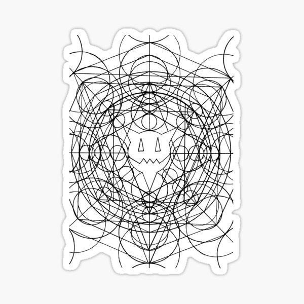 PERCENTUM CropCircles Sticker