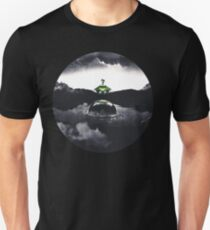 Landing on Zebes A Metroid Surrealism Unisex T-Shirt