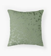 Leaves - earth symbol, 4 elements Throw Pillow