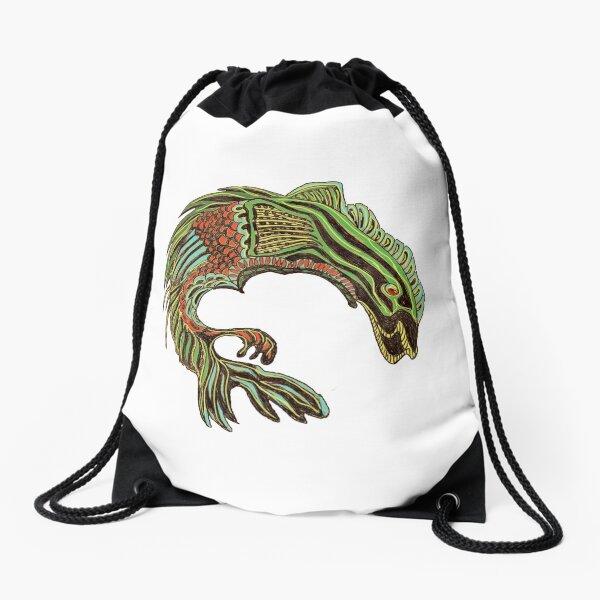 Fish Fantastic Drawstring Bag