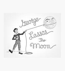 George Lassos the Moon Photographic Print