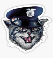 Police Cat Sticker