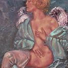 From My Heart Angel Print by 1cscheid