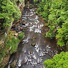 Gorge at Cuyahoga Falls by Kenneth Keifer