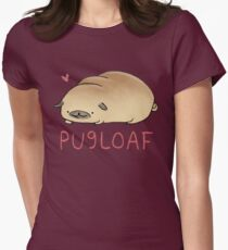 Pugloaf Womens Fitted T-Shirt