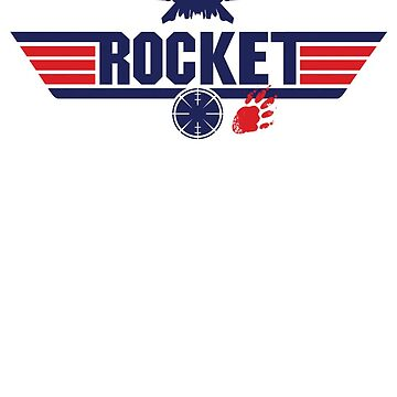 Galaxy Gun - Rocket by Crocktees
