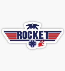 Galaxy Gun - Rocket Sticker