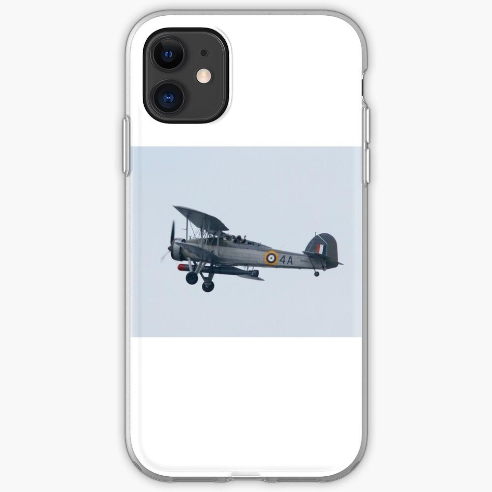 Royal Navy Swordfish Vintage Bi-Plane iPhone Case & Cover