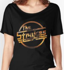 Strokes logo Tropical Women's Relaxed Fit T-Shirt