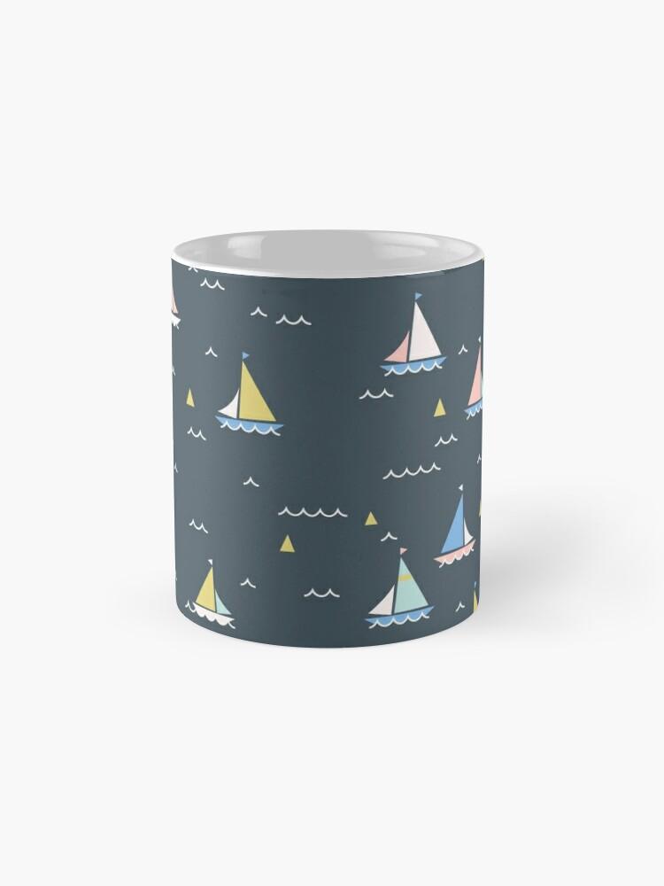 Alternate view of Small boats Mug