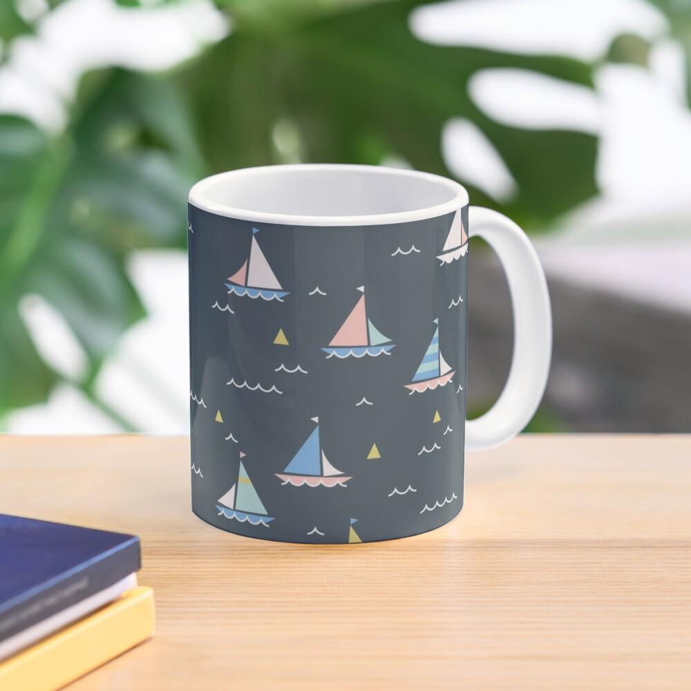 Small boats Mug