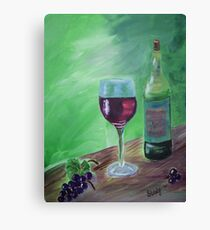 Finger Lakes Wine Canvas Print