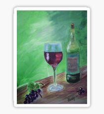 Finger Lakes Wine Sticker