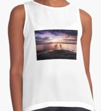 Dive into the sunset Contrast Tank