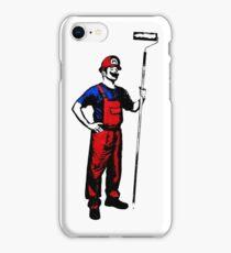 Mario Stencils iPhone Case/Skin