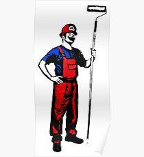 Mario Stencils Poster