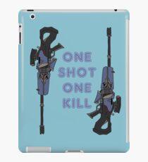 one kill iPad Case/Skin
