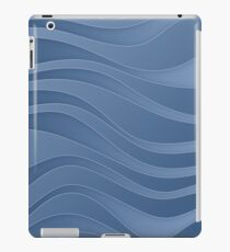 Waves - water symbol, 4 elements iPad Case/Skin